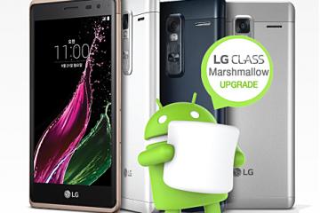 LG Class начал обновляться к Android 6.0 Marshmallow в Южной Кореи